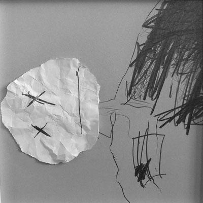 Serie Apollo 13, Collage 1, Mischtechnik, Thomas Autering