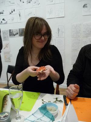Ausstellung EINTOPF 5, Silvia Liebig, Thomas Autering, blam! Produzentengalerie