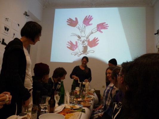 Ausstellung EINTOPF 15, Silvia Liebig, Thomas Autering, blam! Produzentengalerie