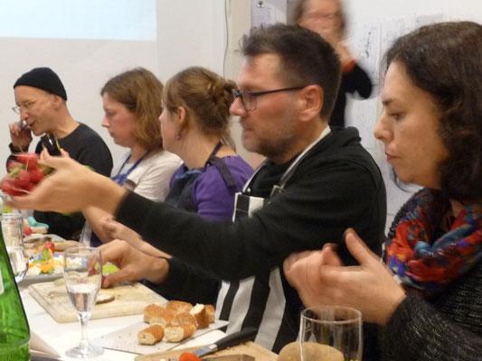 Ausstellung EINTOPF 7, Silvia Liebig, Thomas Autering, blam! Produzentengalerie