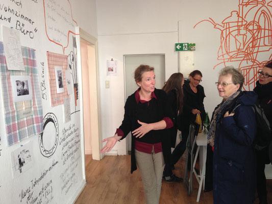 Ausstellung KÜCHENBESUCHE 6, Silvia Liebig, Thomas Autering, blam! Produzentengalerie