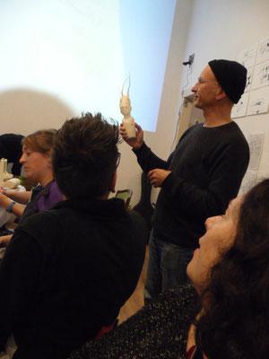 Ausstellung EINTOPF 17, Silvia Liebig, Thomas Autering, blam! Produzentengalerie