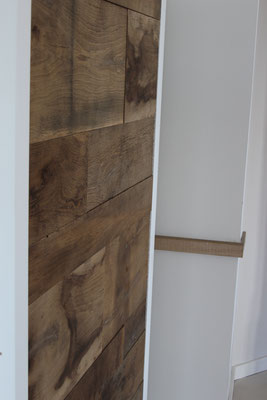 Showroom Fendt Holzgestaltung Wandverkleidung