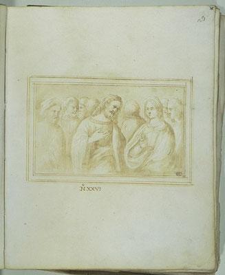 anonym ital. XVI/VII Jh. Louvre (Galerienotiz zu Adultera XVI Jh.)