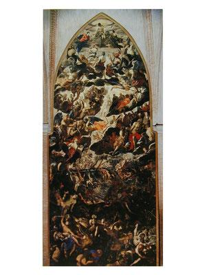 Madonna dell'Orto, Giudizio/Diluvio, rechte Chorseite