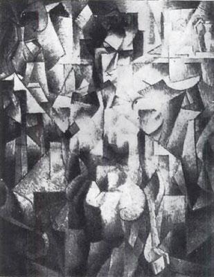 Metzinger Nu à la cheminée 1910, verschollen