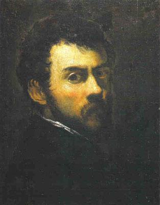 Jacomo Tintoretto, Selbstportrait London
