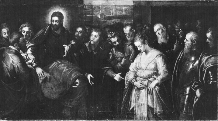 Domenico Tintoretto, Adultera Copenhagen