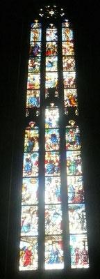 Vincenzo Foppa-Nachfolge, Duomo Milano (5.Fenster von W, 4.Szene v.u.)ca.1475