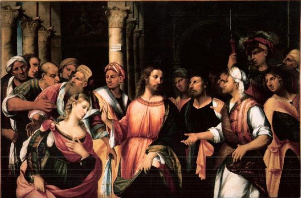 Rocco Marconi(*Treviso-1529 Venedig), Gallerie dell'Acc.di Venezia, Lw.131x197cm