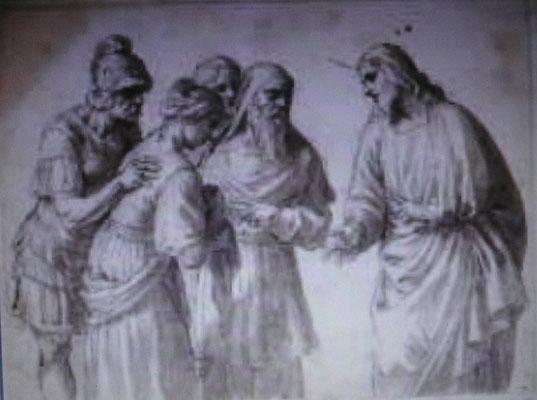 Alessandro Turchi l'Orbetto (Verona1578-1649 Rom)FZ.lav.20,3x27,3cm Nat.mus.Stockholm