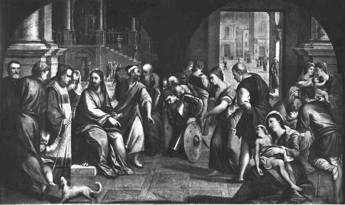 Bonifazio Veronese & Geh., Gall.dell'Accademia (Dep.Cini), Venezia (Lw.181x309cm)