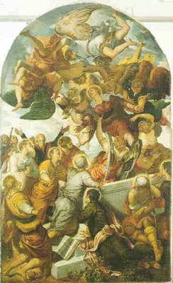 Jacomo Tintoretto, Himmelfahrt Mariens, Bamberg, Obere Pfarre