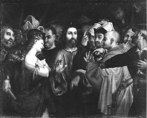 nach Lorenzo Lotto, Galleria di Palazzo Spada Rom, Lw.103,5x130,5cm
