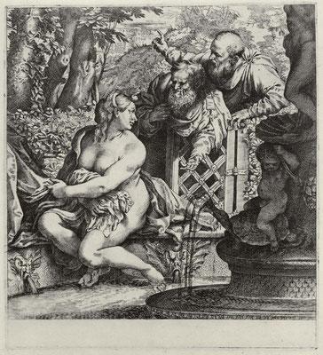 Annibale Carracci, Susanna ca. 1606