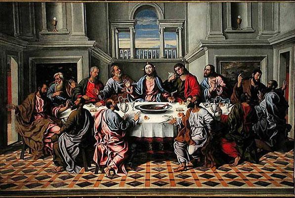 Girolamo da Santacroce, Ultima Cena, Venedig S.Frc.della Vigna