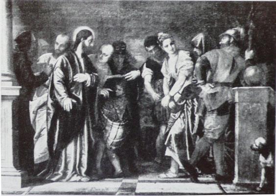 Paolo Veronese(1528-1588), bayerische Staatsgemäldesamml. München (Lw.130,4x181,5cm)