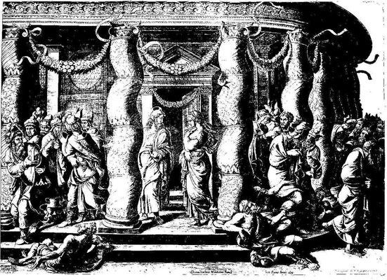 Diana Scultori nach Giulio Romano (30er Jahre), 1575 (Nachstich 1633)