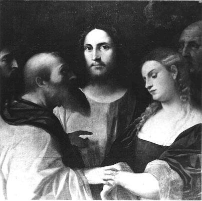 Jacopo Palma il Vecchio(1480-1528), Collezione Museo Capitolino, Rom (Lw.75x79cm)