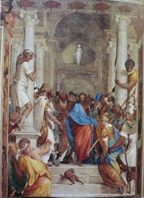 Camillo Boccaccino(1504-1546) Cremona San Sigismondo Fresko 1535