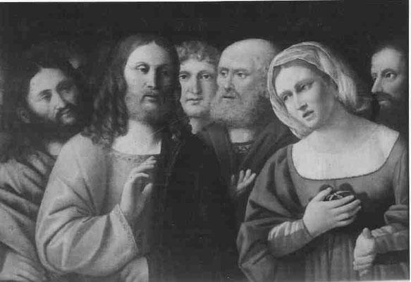 Marco Marziale(um1492-1507tätig), Galleria Carrara Bergamo, Holztafel 45x66cm