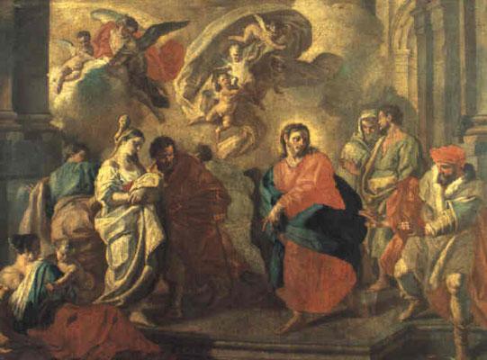 Paolo de Maio(+1784 Neapel) dat.1753 (Lw. 180x250cm) Kunsthandel Christies Juni 1995