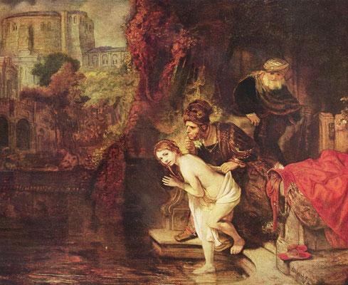 Rembrandt van Rijn, Susanna 1647, Berlin, staatl.Gemäldegalerie