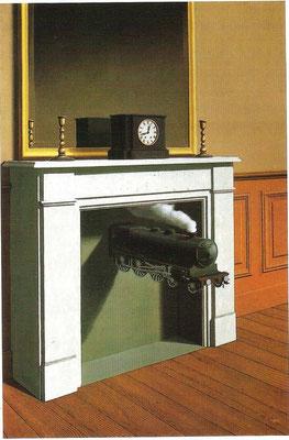 René Magritte,La Duré Poignardé 1938 The Art Institute of Chicago Öl/Lw.147x98,7cm