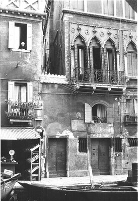 Wohnhaus - nicht Atelier - Tintorettos