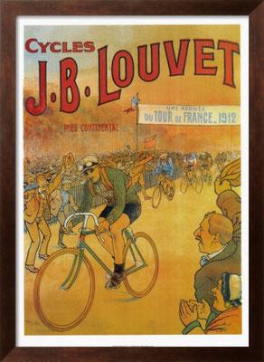 Plakat für Räder von J.B.Louvet 1912