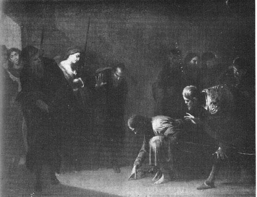Bernardo Cavallino(1622-1654 Neapel) M.Capodimonte Neapel, Lw.101,5x129cm