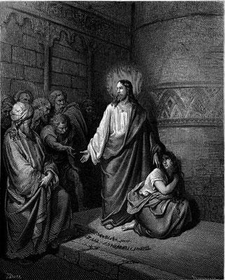 Gustave Doré (1832-1883), Stich zur Bibelillustration 1865