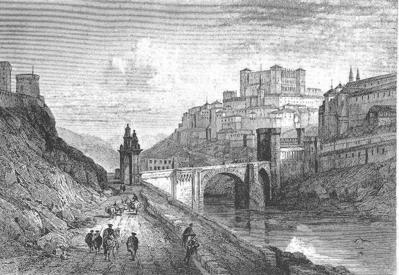 Toledo, Stich Anfang 19.Jh.