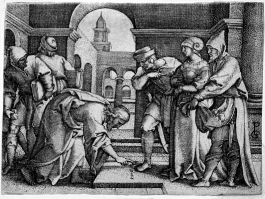 Georg Pencz (1500-1550), Ehebrecherin