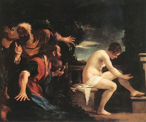 Giov.Frc. Barbieri, gen.Guercino 1617, Susanna Madrid Prado