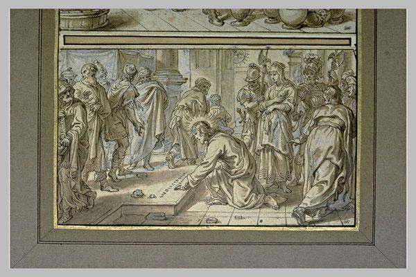 Abraham van Diepenbeek(Hertogenbosch 1596-1675 Antwerpen) Zeichnung Louvre