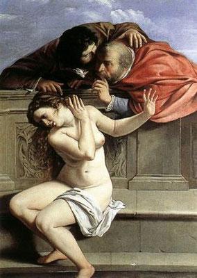Artemisia Gentileschi, Susanna 1610, Pommersfelden, Coll.Schönborn