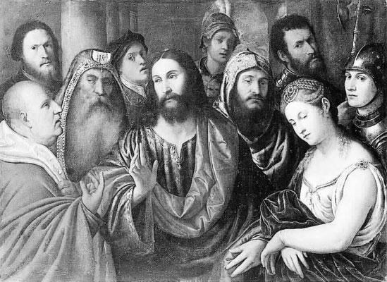 Giampietro di M.Francesco Silvio (ca 1495-1552) Staatl. Gemäldegalerie Berlin (Lw.100x140cm)