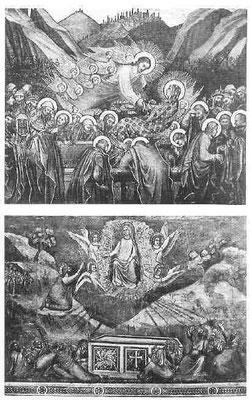 Himmelfahrt Mariens: Thaddeo di Bartolo, Siena und Giottoschule, Padua