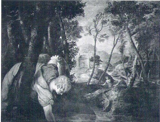 Jacopo Tintoretto, Narziss (und Echo), Rom, Galleria Colonna