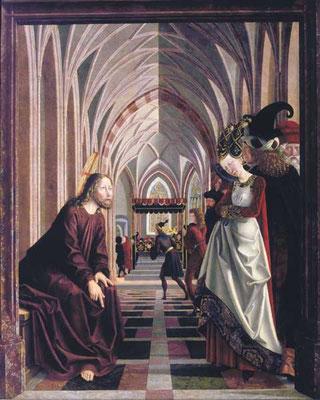 Michael Pacher (1430-1498)& Mitarb., St.Wolfgangaltar 1477 (Holz176x142cm)