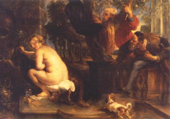 Peter Paul Rubens, Susanna 1636-40, München Alte Pinakothek