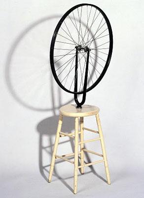 Marcel Duchamp (1887-1968), Fahrradrad 1913 (Kopie)