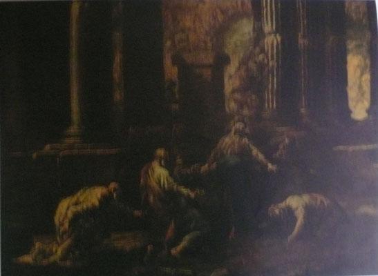 Alessandro Magnasco(1667-1749 Genua) Lw. Milano, ehem. Coll.G.Botta