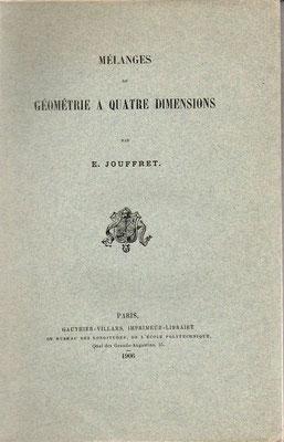 Esprit Jouffret (*1837), Traité élementaire de géométrie à quatre dimensions 1903