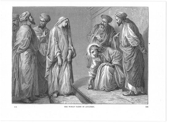"Bibelillustration ""The Gospel lif of Jesus"" um 1874 (Alexandre Bida, 1813-1895)"