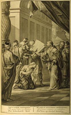 """Arnold Houbraken (1660-1719 Amst. & F. v. Bleyswijck )""""Figures de la Bible"""" 1728"""