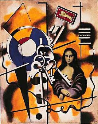 Fernand Léger , La Gioconde aux clefs 1930