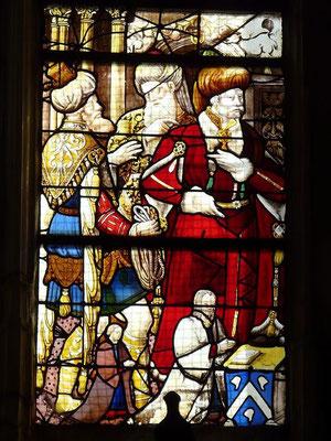 St.Patrice, Rouen (Südfenster, baie 16,Vitr.22) 16.Jh (ehem. aus St.Godard)