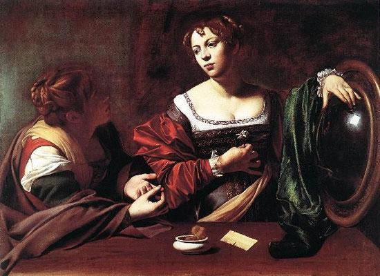 Mich. Merisi da Caravaggio, Martha und Maria1598, Detroit, Inst.of Arts